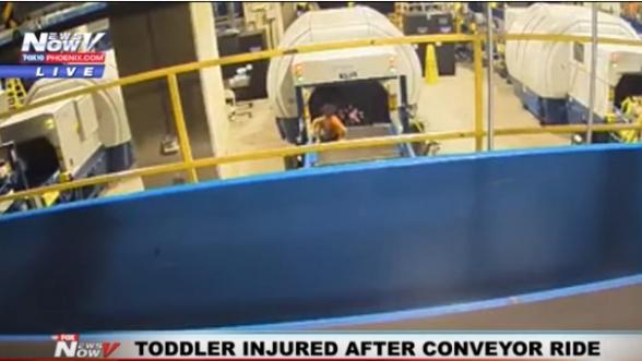 Ատլանտայի օդանավակայանում 2-ամյա տղան հայտնվել է ուղեբեռի գոտու վրա