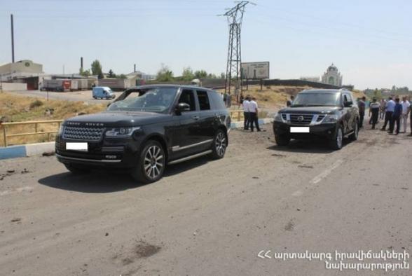 Ոստիկանությունը տեսանյութ է հրապարակել Երևան-Սևան ճանապարհին տեղի ունեցած պայթյունի վերաբերյալ