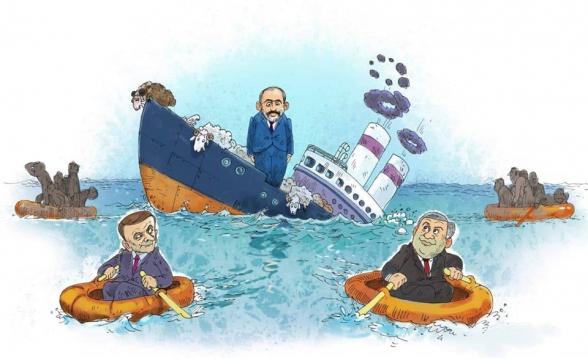 Тонущий корабль Никола