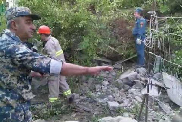 Կապանում երկհարկանի բնակելի շինության փլուզման հետևանքով մահացել է երկու մարդ (տեսանյութ)