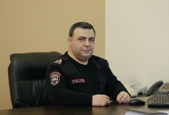 Ոստիկանության շտաբի պետ Հովհաննես Քոչարյանն ազատվել է պաշտոնից