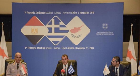 Կիպրոսը, Հունաստանը և Եգիպտոսը դատապարտել են Թուրքիայի գործողությունները