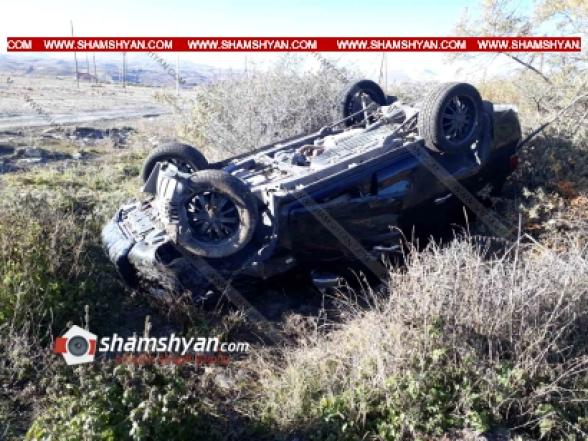 Գեղարքունիքի մարզում Toyota Land Cruiser-ը բախվել է քարերին և գլխիվայր շրջվել. կան վիրավորներ (տեսանյութ)