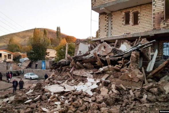 Իրանի երկրաշարժի հետևանքով տուժել է ավելի քան 500 մարդ