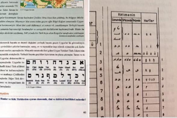 Իսրայելի պետական լեզվի այբուբենը Թուրքիայում ներկայացվել է որպես թյուրքական լեզվի՝ ույղուրերենի այբուբեն