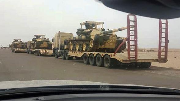 Россия завершила первый этап поставок Ираку танков Т-90С