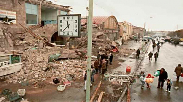 Сегодня – годовщина трагического землетрясения 1988 года