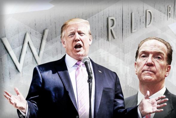 Трамп потребовал от Всемирного банка не выдавать кредиты Китаю