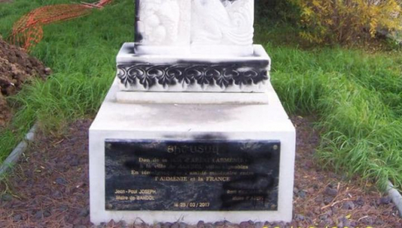 Ֆրանսիական Բանդոլ քաղաքում հայկական խաչքար են պղծել