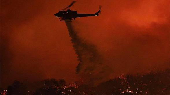 Компания-виновница пожаров в Калифорнии выплатит пострадавшим $13,5 млрд