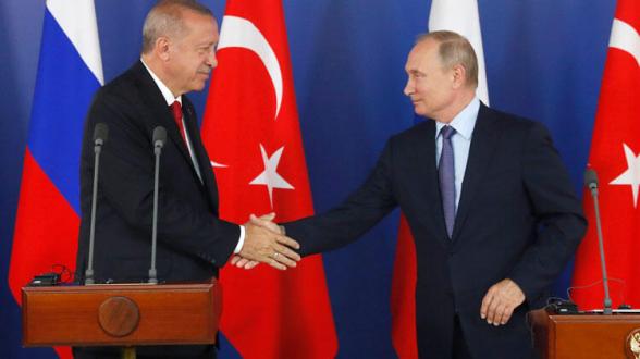 Էրդողանը հայտնել է, որ Պուտինը Թուրքիա կայցելի հունվարի 8-ին