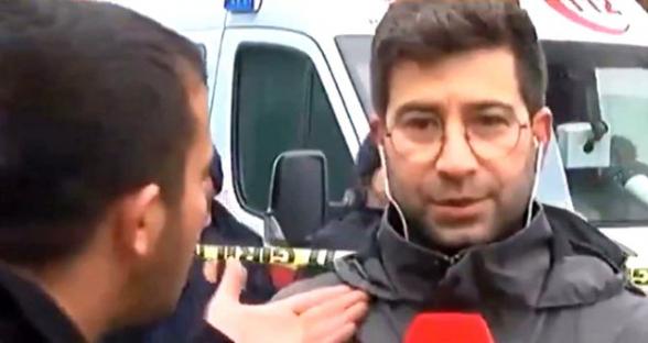 Թուրքիայում ուղիղ եթերի ժամանակ հարձակվել են լրագրողի վրա (տեսանյութ)