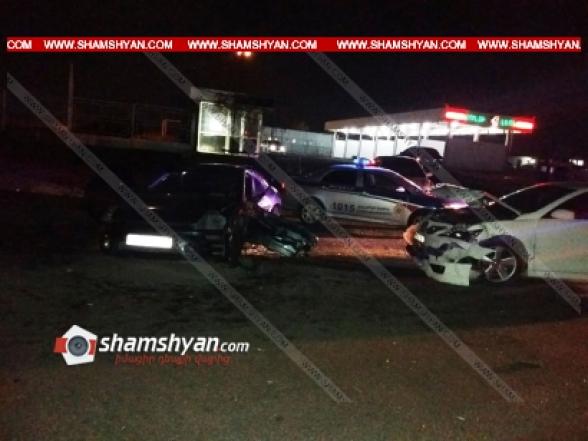 Բախվել են 32-ամյա վարորդի Toyota-ն և 19-ամյա վարորդի Mitsubishi-ն. Հնդկաստանի 3 քաղաքացի տեղափոխվել է հիվանդանոց