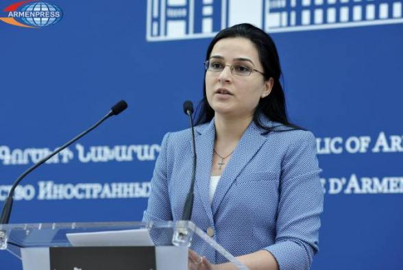 Նաղդալյանն արձագանքել է ՀՀ և Ադրբեջանի ԱԳ նախարարների հանդիպման մասին Մամեդյարովի հայտարարությանը