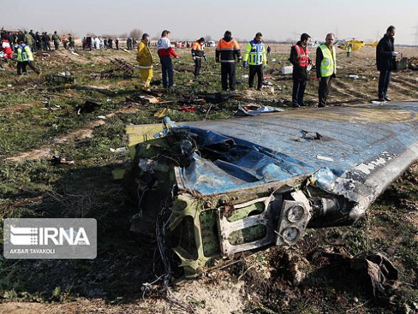 Киеву передадут «черные ящики» сбитого под Тегераном лайнера