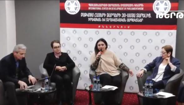 «Բաքվում հայերի ջարդերի 30-ամյա տարելից. իրավական, տեղեկատվական ասպեկտներ» խորագրով քննարկումը (տեսանյութ)