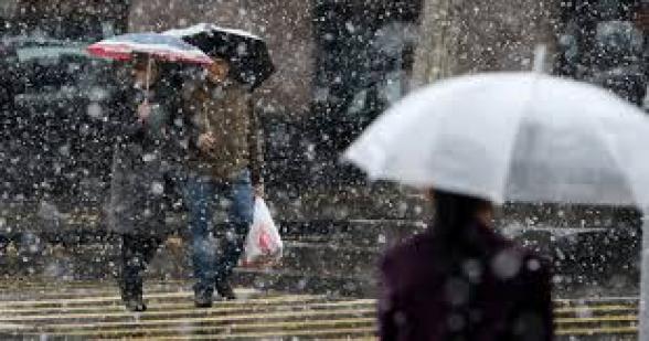 Հունվարի 23-ի երեկոյան ժամերին, 24-ի գիշերը և առավոտյան սպասվում է ձյուն