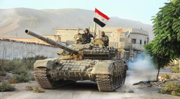 Сирийская артиллерия нанесла удары по позициям террористов к западу от Алеппо