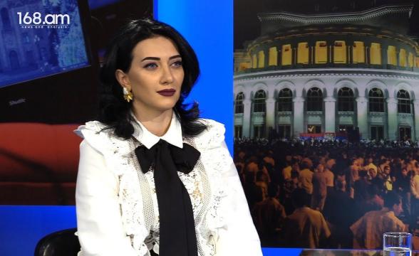 «Не голосуйте за принятие этого законопроекта, этим вы становитесь соучастниками государственного переворота и узурпации полномочий»: Арпине Ованнисян (видео)