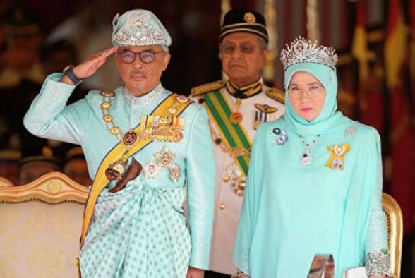 Մալայզիայի թագավորն ու թագուհին անցել են կարանտինային ռեժիմի. ՌԻԱ ՆՈՎՈՍՏԻ