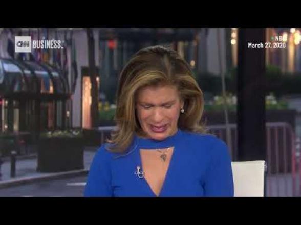 Ամերիկացի հաղորդավարուհին ուղիղ եթերում լաց է եղել կորոնավիրուսի դեմ պայքարի համար նվիրատվության մասին լուրից. CNN (տեսանյութ)