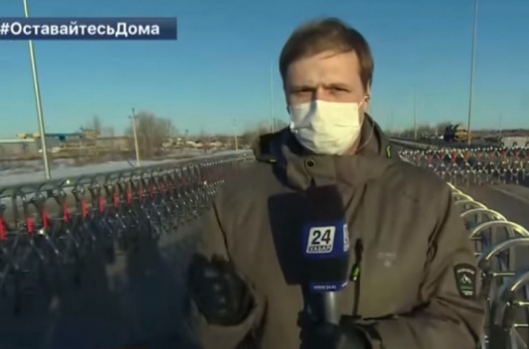 В Казахстане журналист сделал предложение своей девушке в прямом эфире