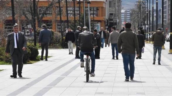 Թուրքիայի Սիվաս նահանգում մարդկանց արգելվում է 3 հոգով կողք կողքի քայլել
