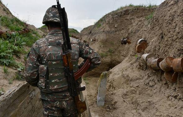 В Арцахе выстрелом с азербайджанской стороны ранен военнослужащий