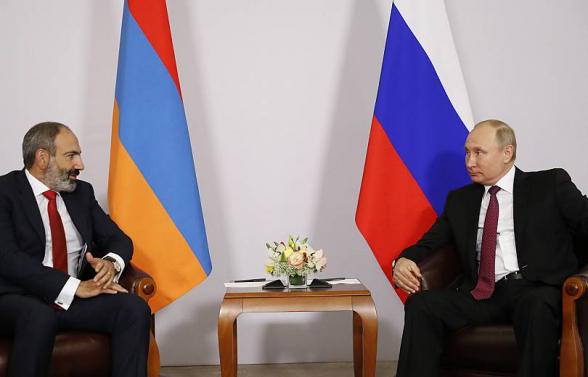Никол Пашинян и Владимир Путин провели телефонную беседу