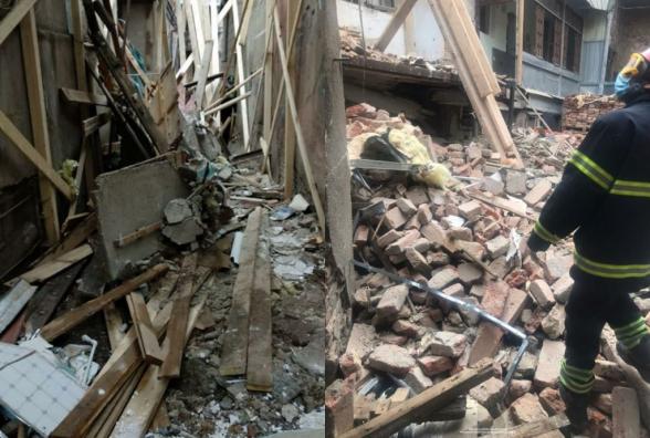 Վրաստանում շենքի ապամոնտաժման ընթացքում պատը փլուզվել է. վիրավորվել է 3 բանվոր