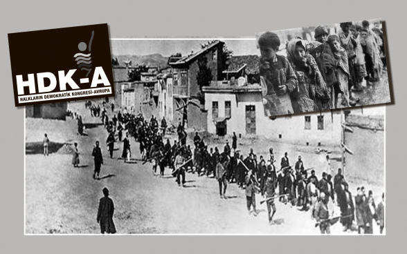Թուրքիայի «Ժողովուրդների դեմոկրատական կոնգրես»․ «Հայոց ցեղասպանությունը 105 տարի չփակված վերք է»