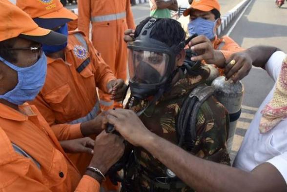 Հնդկաստանում գործարանում գազի արտահոսքից տուժել են հազարավոր մարդիկ
