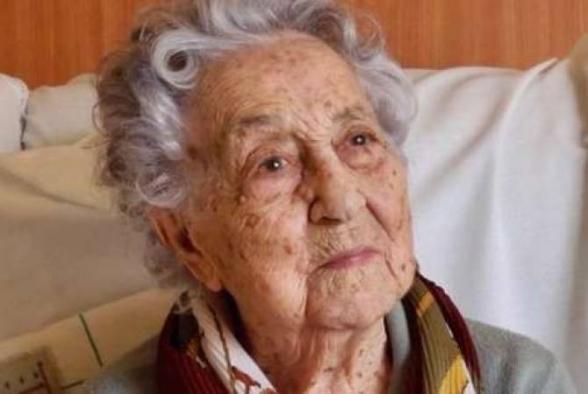 Իսպանիայի ամենատարեց կինը հաղթահարել է կորոնավիրուսը