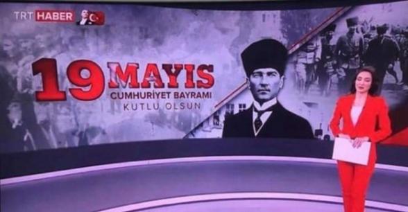 Թուրքիայի պետական հեռուստաընկերությունը խառնել է պետական տոները