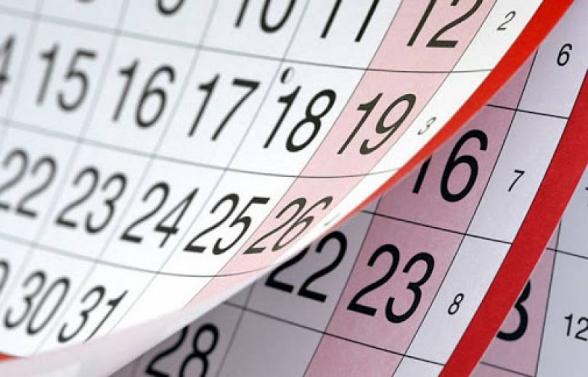 Առաջիկա շաբաթ օրն աշխատանքային է. հանգստյան օր է մայիսի 29-ը