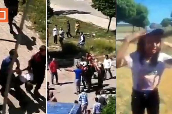 Թուրքիայում ոստիկանությունն արցունքաբեր գազով ցրել է կարանտինային պայմանները խախտած բազմությանը (տեսանյութ)