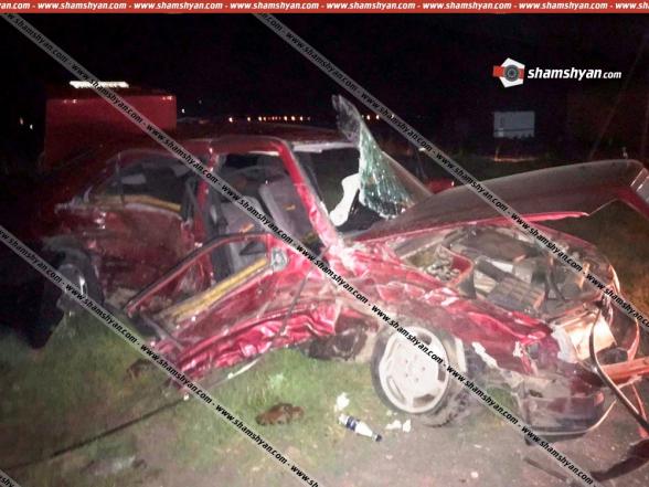 Գեղարքունիքի մարզում բախվել են Lexus-ն ու Mercedes-ը. կա 6 վիրավոր. ավտոմեքենաները վերածվել են մետաղե ջարդոնի