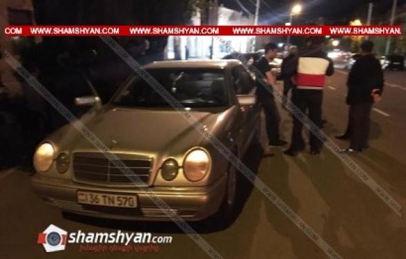 Գյումրիում բախվել են Mercedes-ն ու Opel-ը. կան վիրավորներ