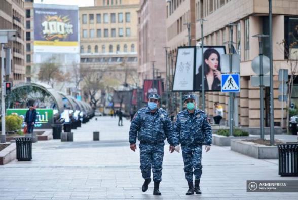 ՀՀ ոստիկանությունն արտակարգ դրության ռեժիմը խախտելու փաստերով կազմել է 15 հազար 241 արձանագրություն