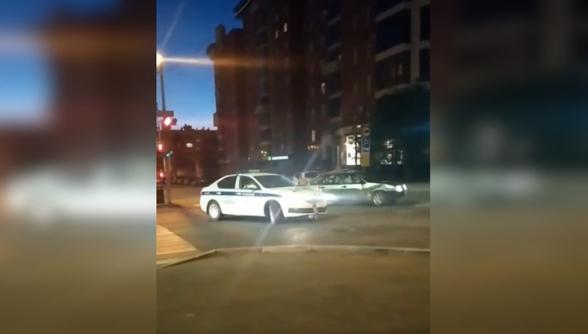 Погоня со стрельбой и жесткое задержание пьяного водителя в Перми попали на видео