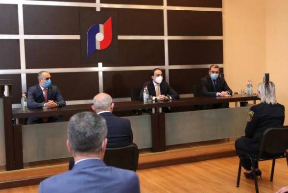 Փոխվարչապետ Տիգրան Ավինյանը աշխատակազմին է ներկայացրել ՊԵԿ նորանշանակ նախագահին