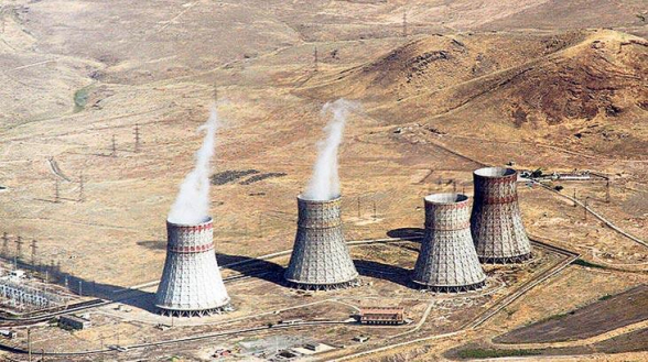 Армянская АЭС остановилась на планово-предупредительный ремонт