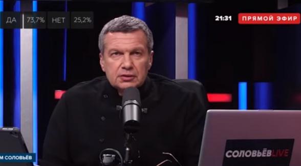 Соловьев: «Навальный ненавидит армян и презирает Армению, а его показывают на Общественном телевидении, ну вы даете» (видео)