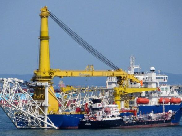 Дания разрешила якорные трубоукладчики на «Северном потоке 2»