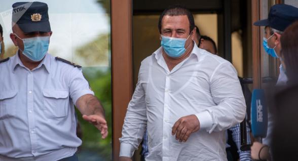 Апелляционный суд рассмотрел жалобы по делу Гагика Царукяна (видео)