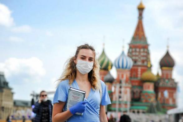 Մոսկվայում հուլիսի 13-ից չեղարկվելու է փողոցներում պարտադիր դիմակ կրելու ռեժիմը
