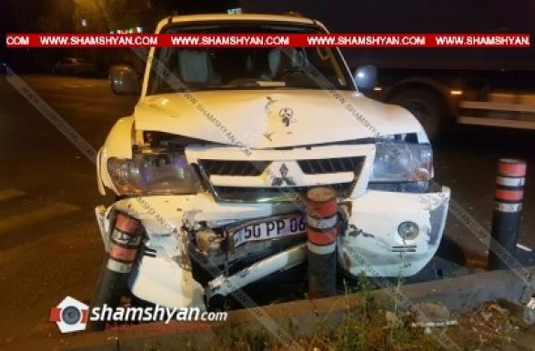 Երևանում բախվել են Mitsubishi-ն ու Mazda-ն. կան վիրավորներ