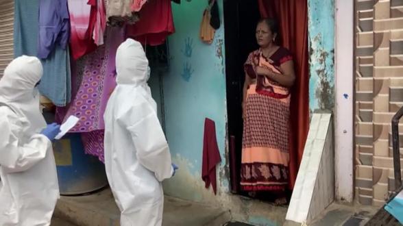 Ситуация с COVID-19 в Индии становится все хуже (видео)