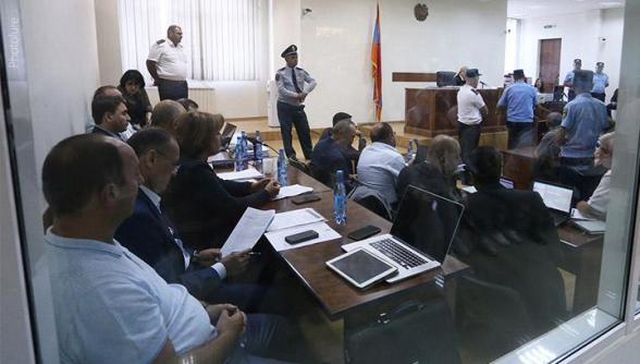 Քոչարյանի պաշտպանները միջնորդեցին դատարան հրավիրել մի շարք նախկին պաշտոնյաների (տեսանյութ, լրացված)