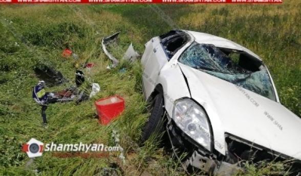 Լոռու մարզում բախվել են Nissan Tida և Nissan Teana ավտոմեքենաները, վերջինս ընկել է ձորը. կա վիրավոր